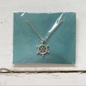 Effy Silver Ship Wheel Necklace